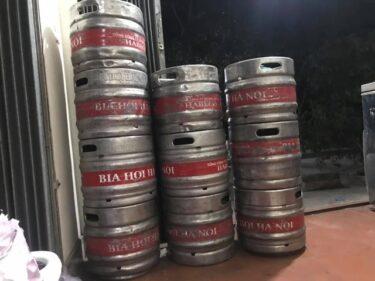 生ビールの量り売りって飲んだことある?
